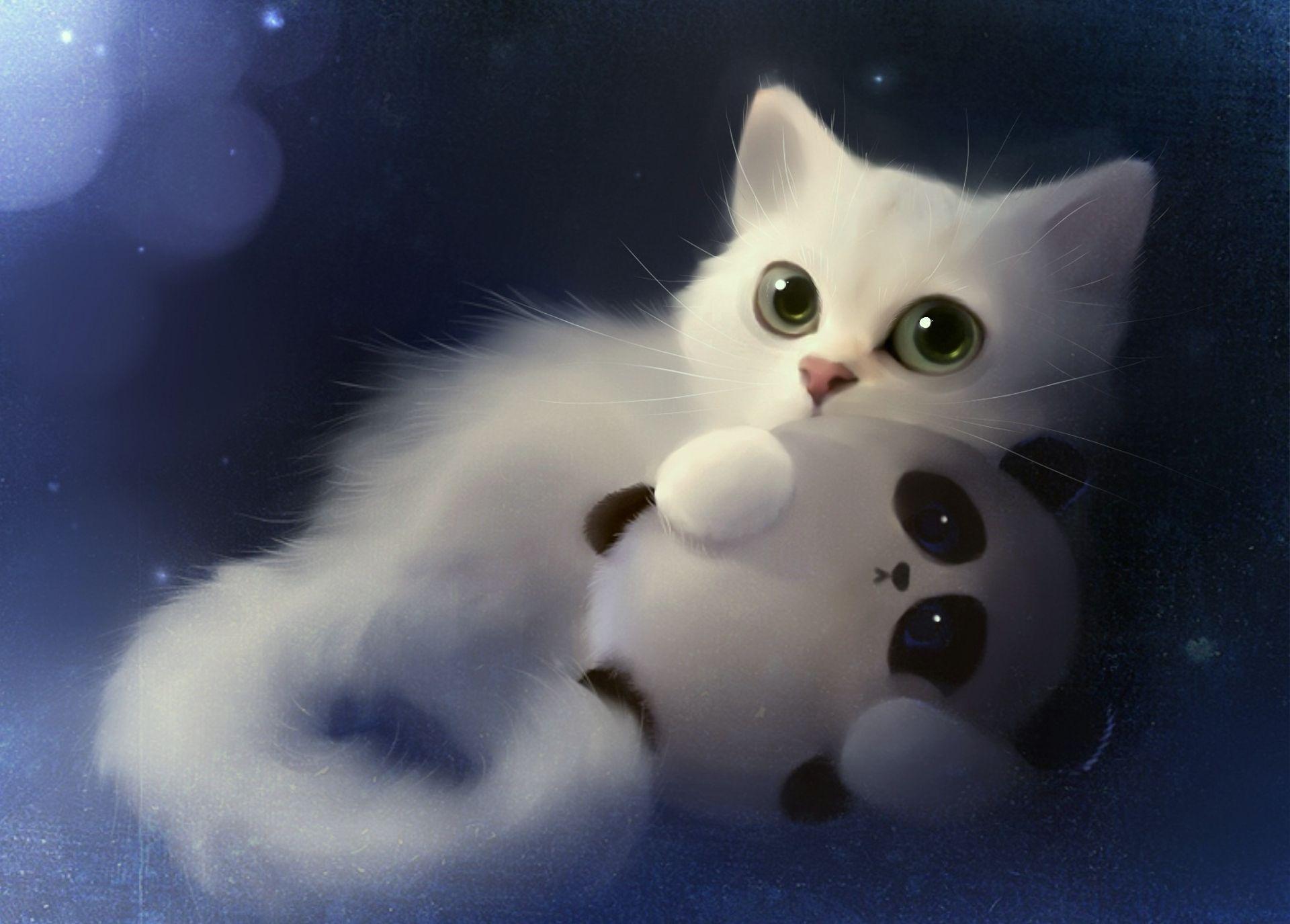 Felicity Kitty Cute Anime Cat Cat Art Cat Artwork