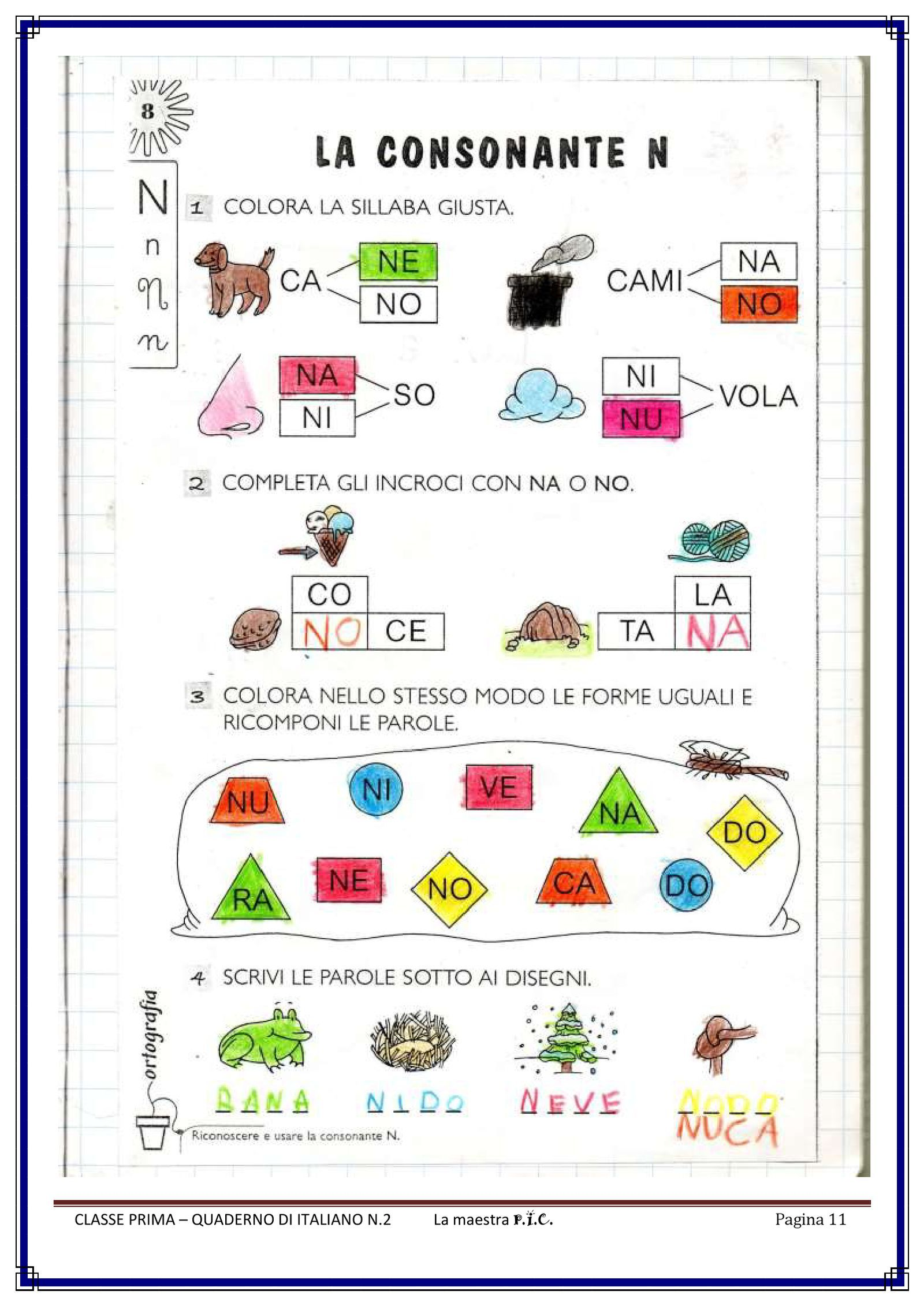 IL MIO QUADERNO DI ITALIANO PDF to Flipbook Quaderno