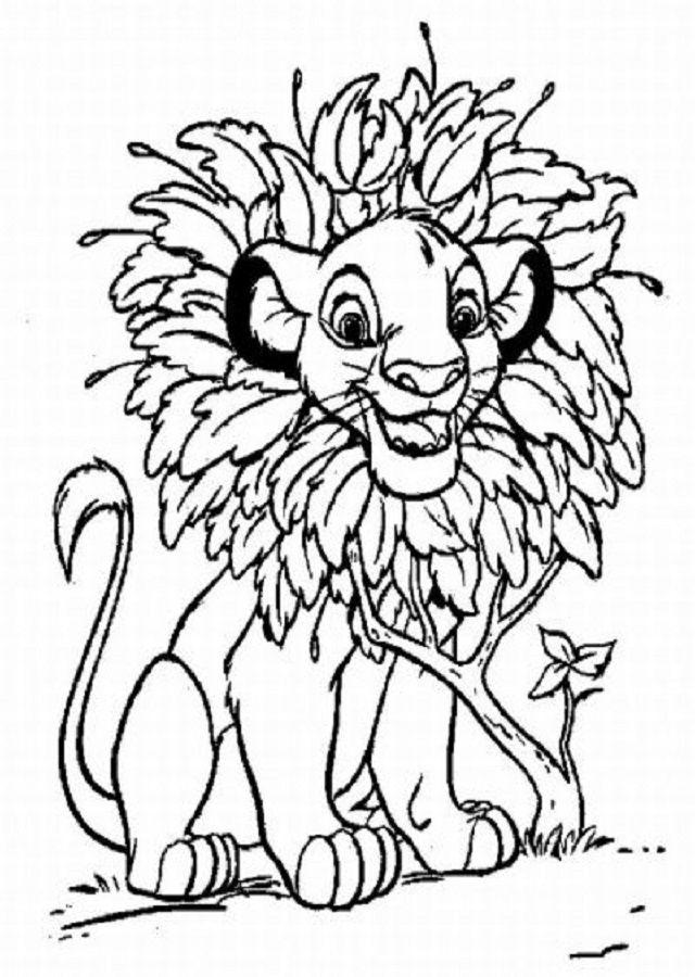 Pin de dibujosparacolorear en El rey Leon | Páginas para ...