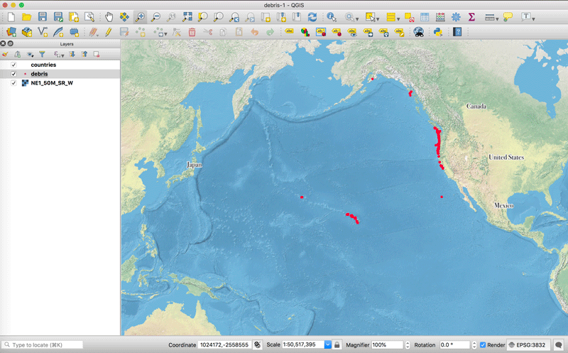 This quick tutorial shows you how to recenter your map project in