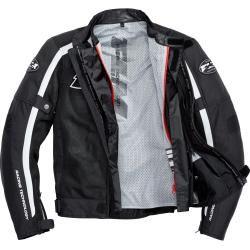 Flm Sports Textil Motorradjacke 1.1 weiß Herren Größe Xl Flmflm