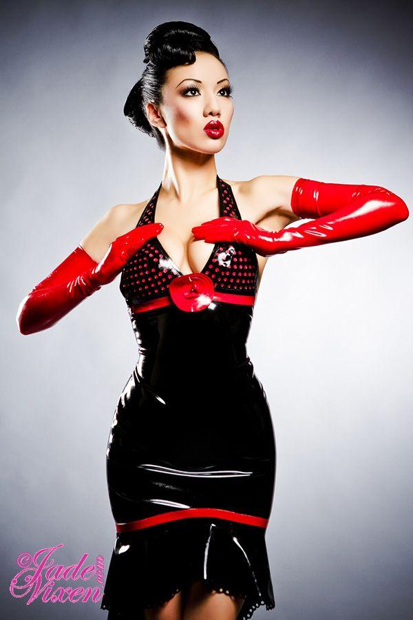 Jade Vixen: Latex Fashion, Fashion, Rubber Doll