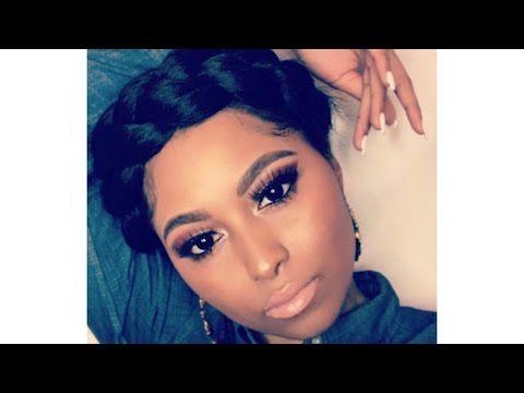 How To Easy Goddess Crown X2f Halo Braid Tutorial Natural Hair