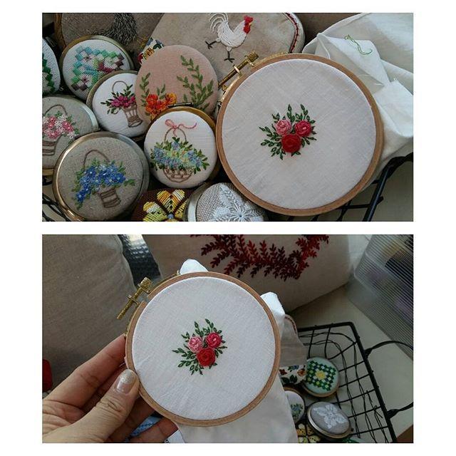 작은자수  #프랑스자수 #embroidery