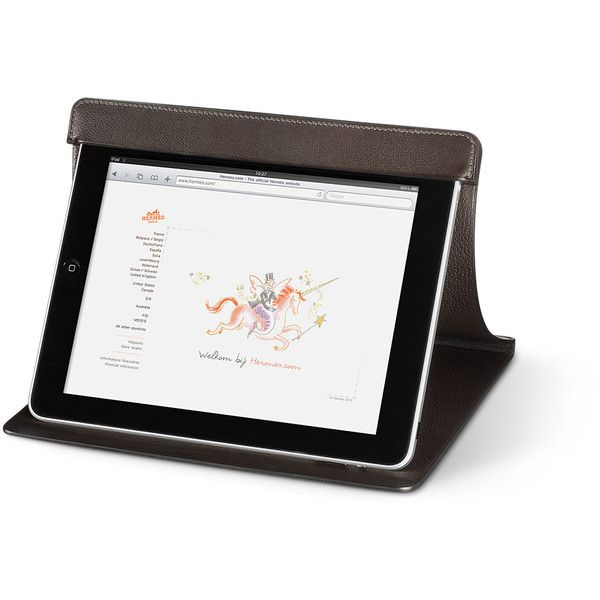 Hermès Hightech Ipad® Station ($1,450) ❤ liked on Polyvore featuring accessories, computer, electronics, hermes and props