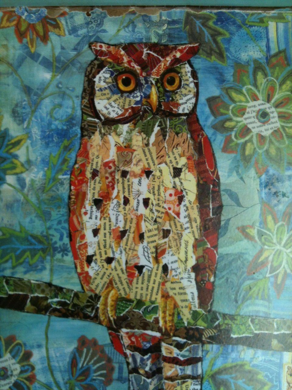 Amazing Owl Art Project. Chop' Teen Club