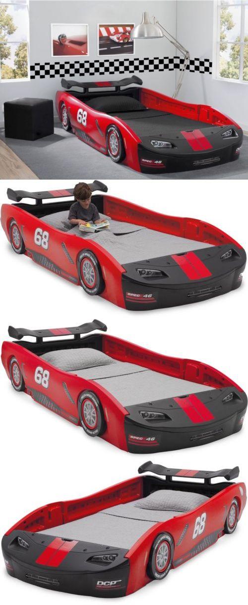 racing car bedroom furniture. Bedroom Furniture 66742: Delta Children S Red Turbo Race Car Twin Bed Kid Racing