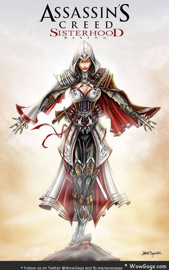 Assassin S Creed Sisterhood Funny Assassin S Creed Female