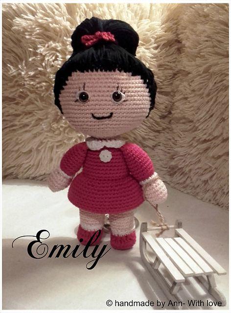 Ravelry: Emily pattern by Handmade by Ann | crochet amigurumi minis ...