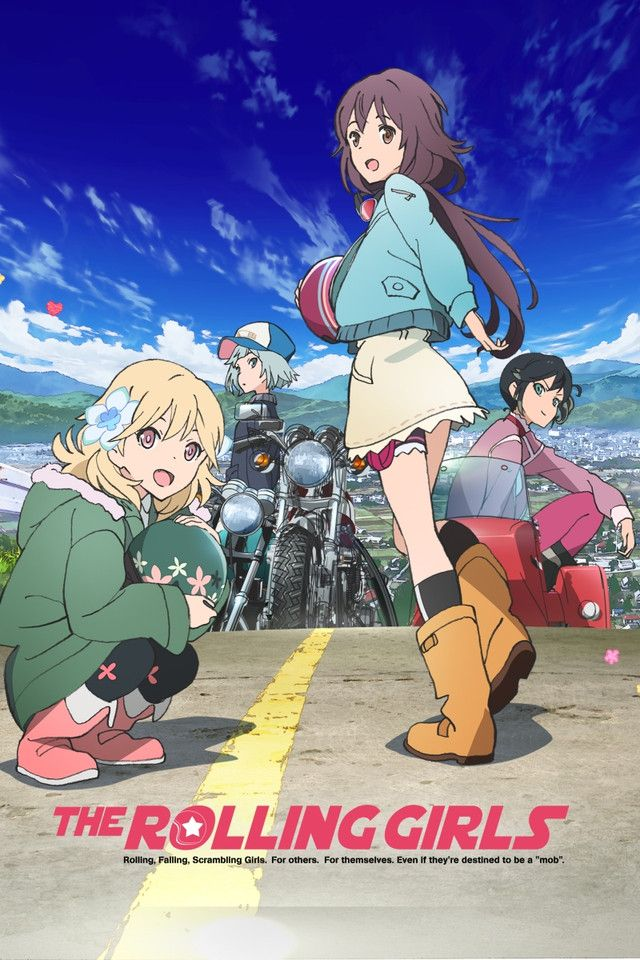 Crunchyroll Adds The Rolling Girls Rin Daughters Of Mnemosyne To Digital Lineup Anime Herald Anime Rolling Girl Anime Shows