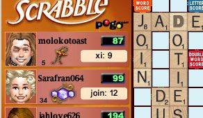 Scrabble online pogo