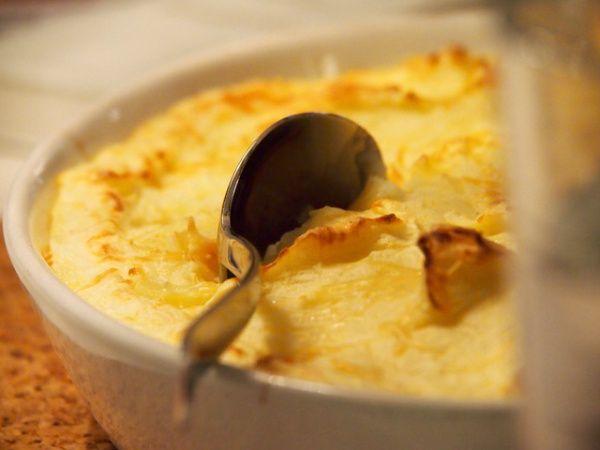 Jauheliha-perunavuoka ranskalaisittain
