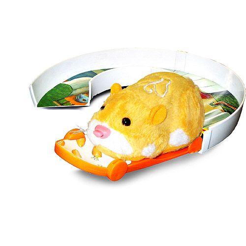 Zhu Zhu Pets Skateboard U Turn Track Set U Turn Hamster Toys Pets