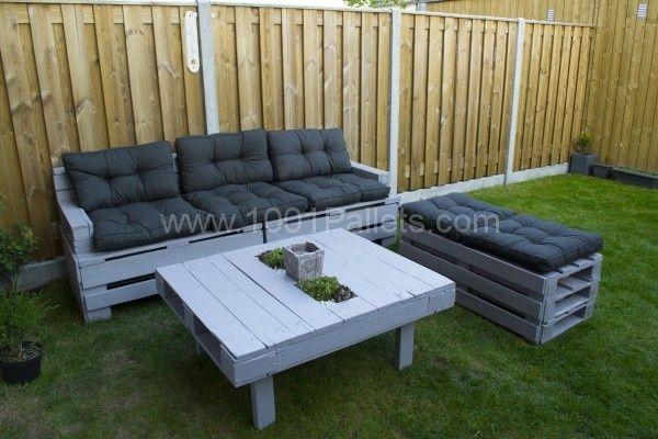 Complete Pallet Garden Set Pallet Ideas 1001 Pallets: Garden Couch & Closet • Pallet Ideas