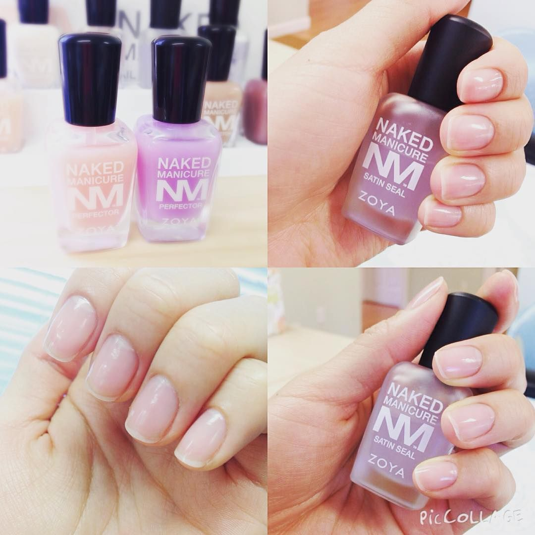 """#Repost get the perfect looking natural nail @5thavenail ・・・ Healthy Nail  #ZOYA #nakedmanicure"""