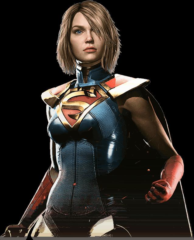 Supergirl Injustice 2 Portrait Png By Darkvoidpictures Deviantart Com On Deviantart Supergirl Injustice 2 Supergirl Superman