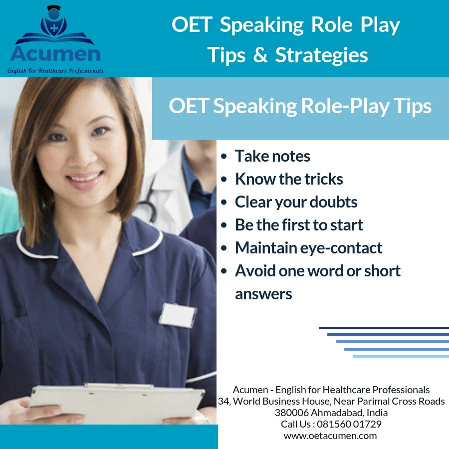 Pin on Occupational English Test OET