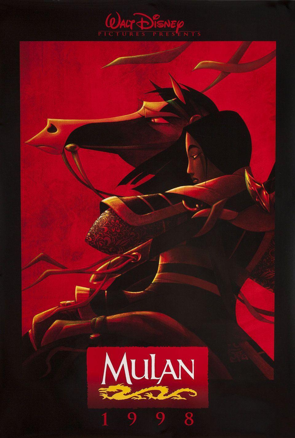 mulan 1998 u s one sheet poster in 2019 posters de peliculas rh pinterest com