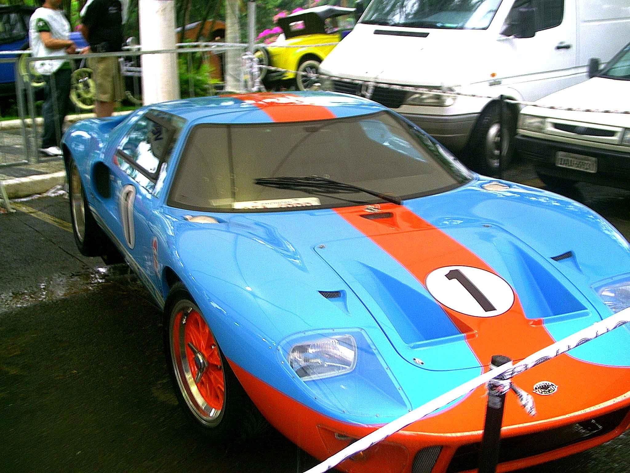 Americar Gta  Replica Do Ford Gt  Vencedor De Le Mans