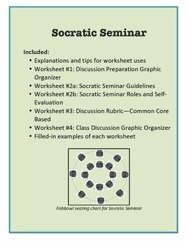 Socratic Seminar Student Prep and Evaluation Bundle   Students ...