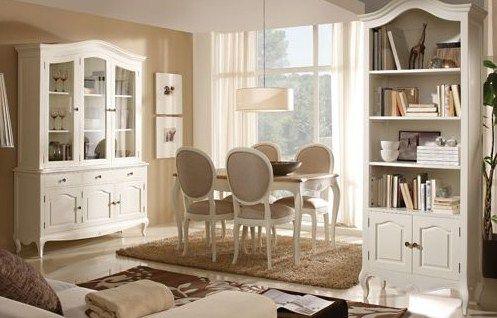 Comedores con estilo antiguo en tonos beige   Muebles salon ...