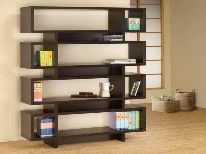 Bücherregal Ideen - über 60 Inspirationen für Ihr Zuhause - Archzinenet - wohnzimmer ideen mit holz