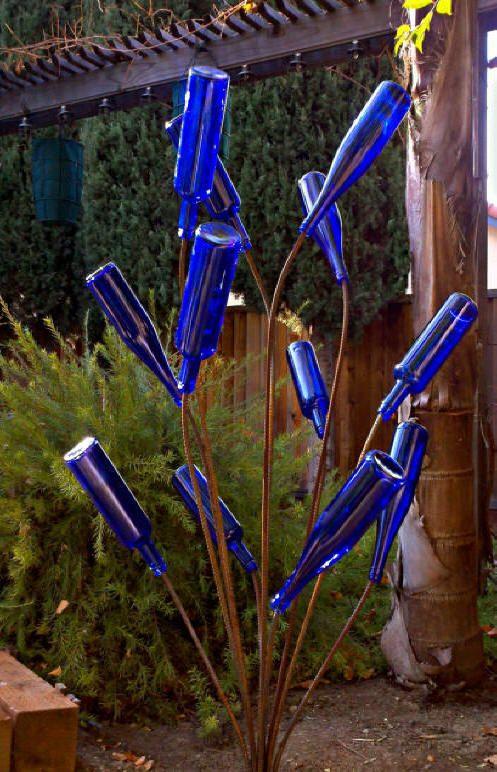 Windblown Bottle Tree Sale Free Shipping Wine Bottle Garden