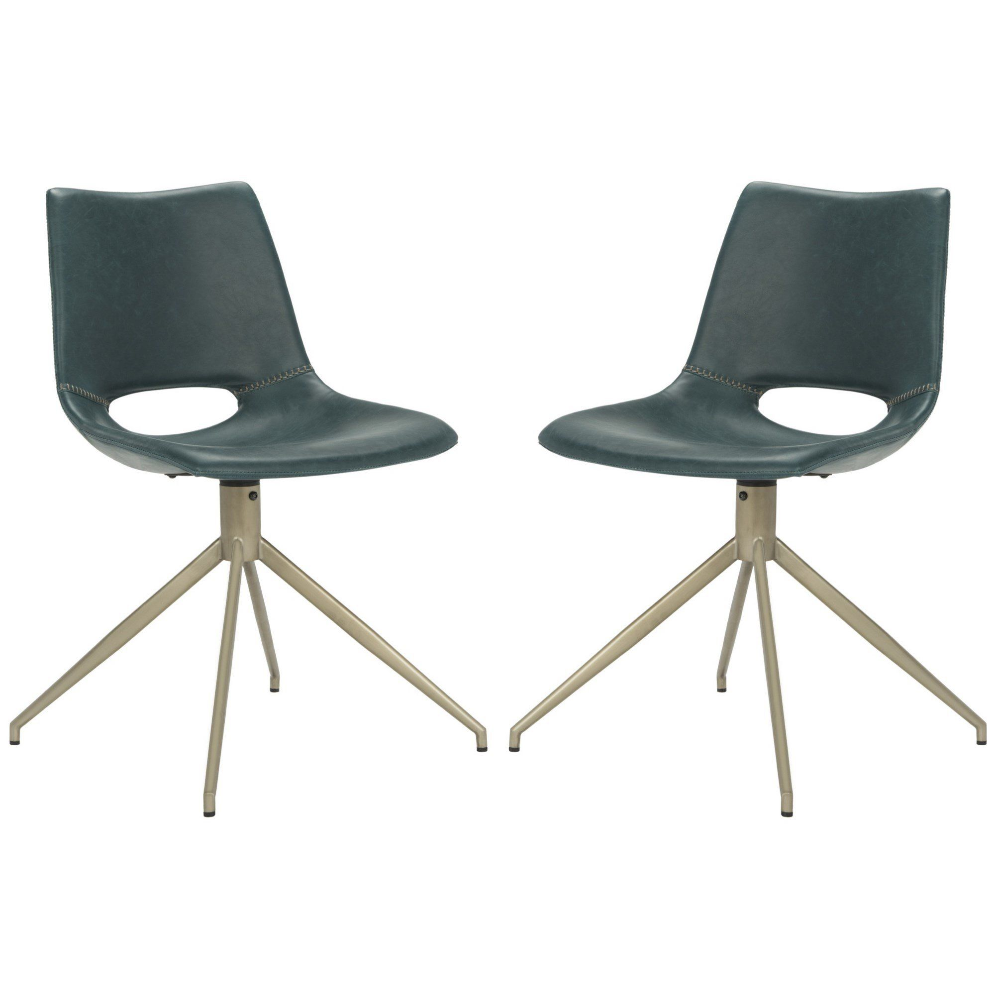 Cordelia Swivel Side Chair  Skimoore House  Pinterest  Side Simple Leather Swivel Dining Room Chairs Decorating Design
