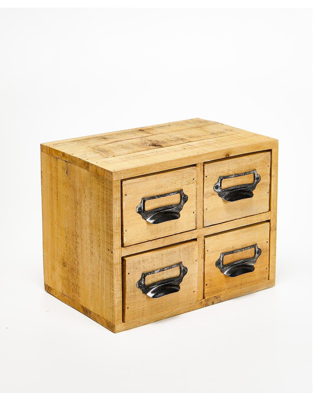 Boîte à 11 tiroirs, 11€, Zara Home.  Boîte à tiroirs, Tiroir, Boite