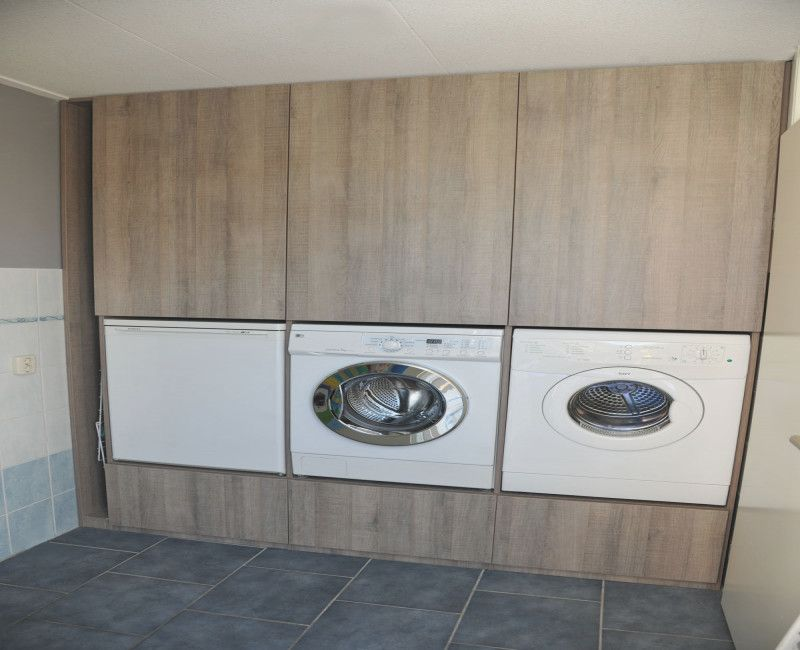 Wasmachine Kast Google Zoeken Kast Pinterest Laundry at Badkamer ...