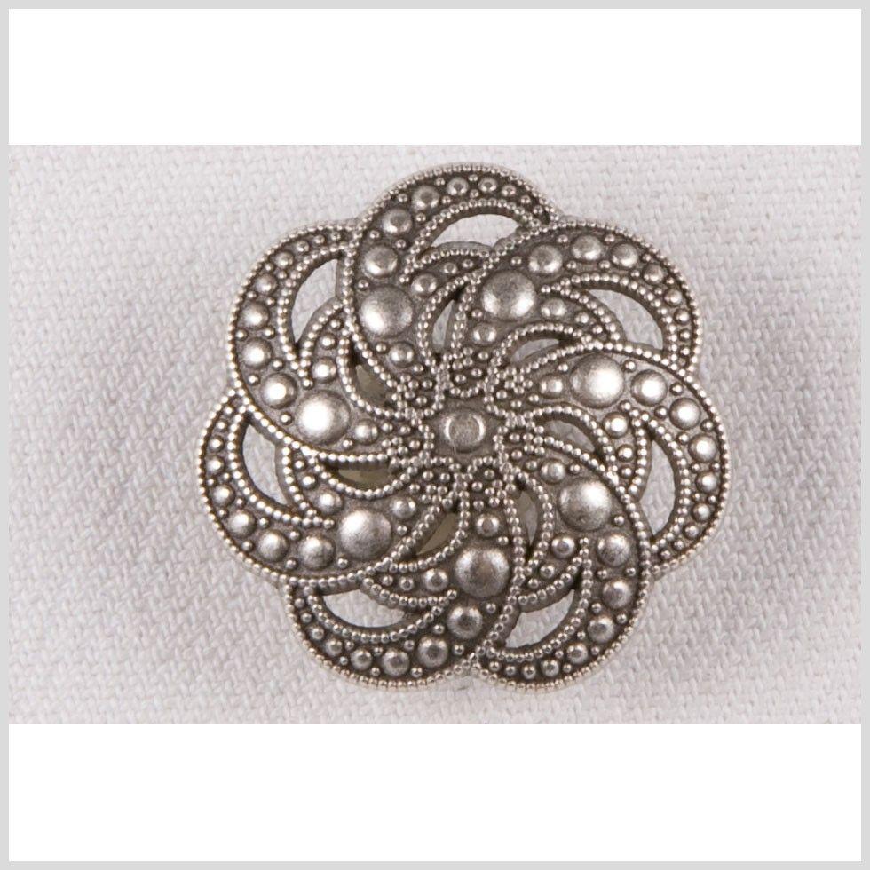 44L/28mm Silver Metal Coat Button - Metal - Blazer & Coat