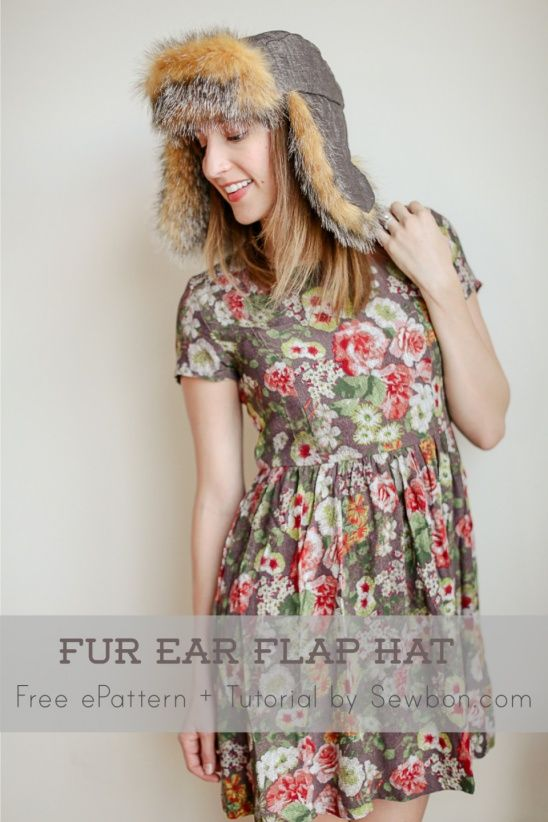 Free PDF Pattern and Tutorial | hats | Pinterest | Nähen