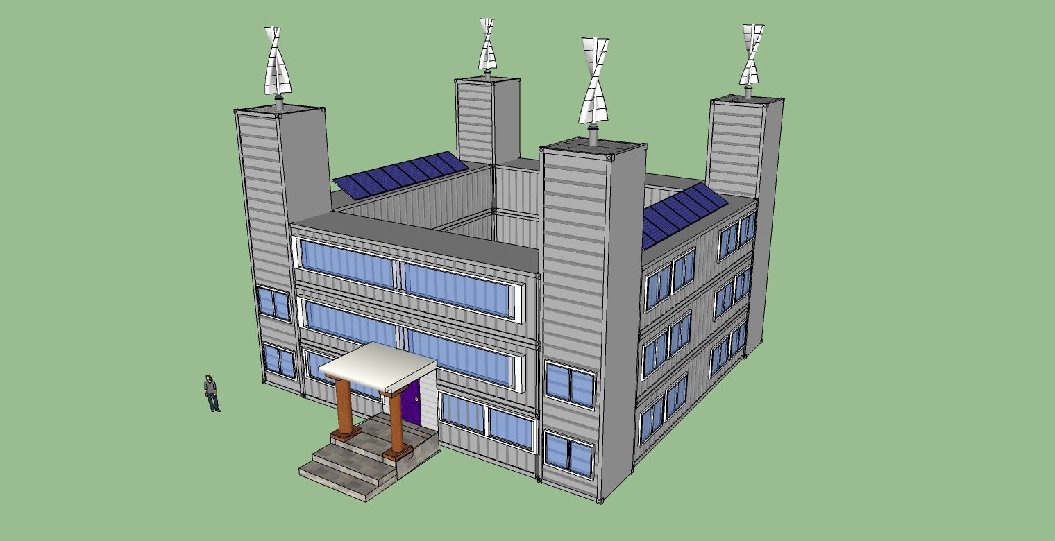 My Shipping Container Home Designs Container Castle