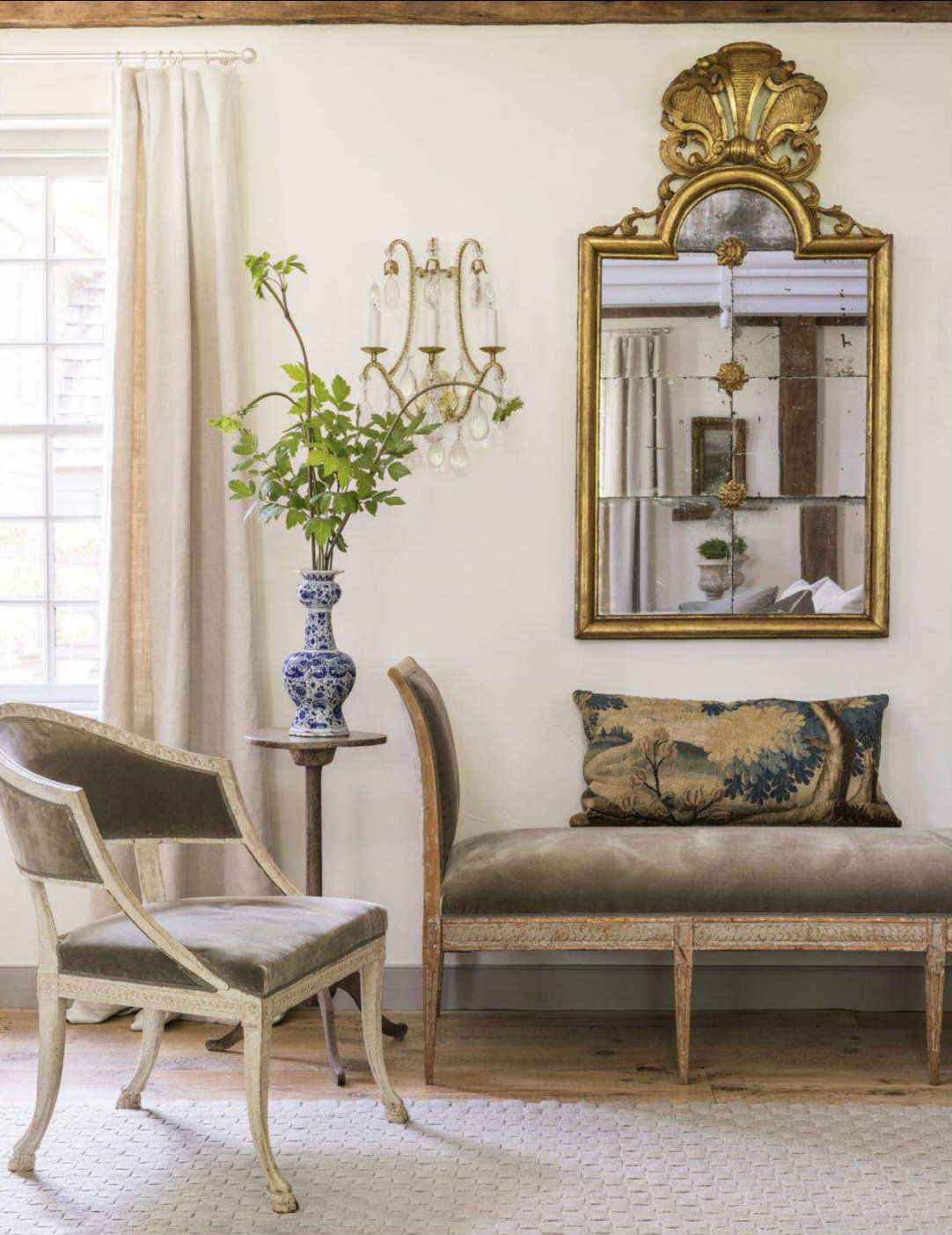 Designers Brooke And Steve Giannetti Merge 17th And 18th Century