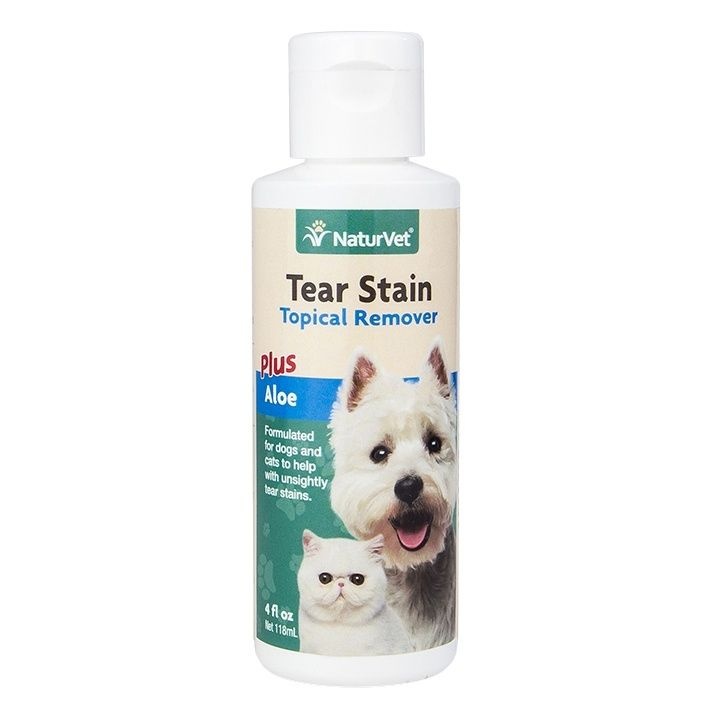 NaturVet Topical Tear Stain Remover For Cats And Dogs