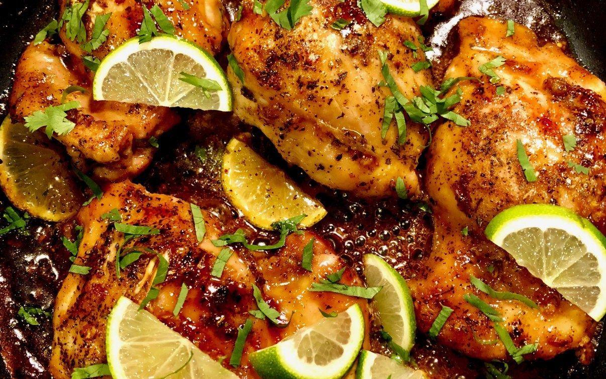 AIP Honey Lime Chicken Thighs #honeylimechicken AIP Honey Lime Chicken Thighs #honeylimechicken