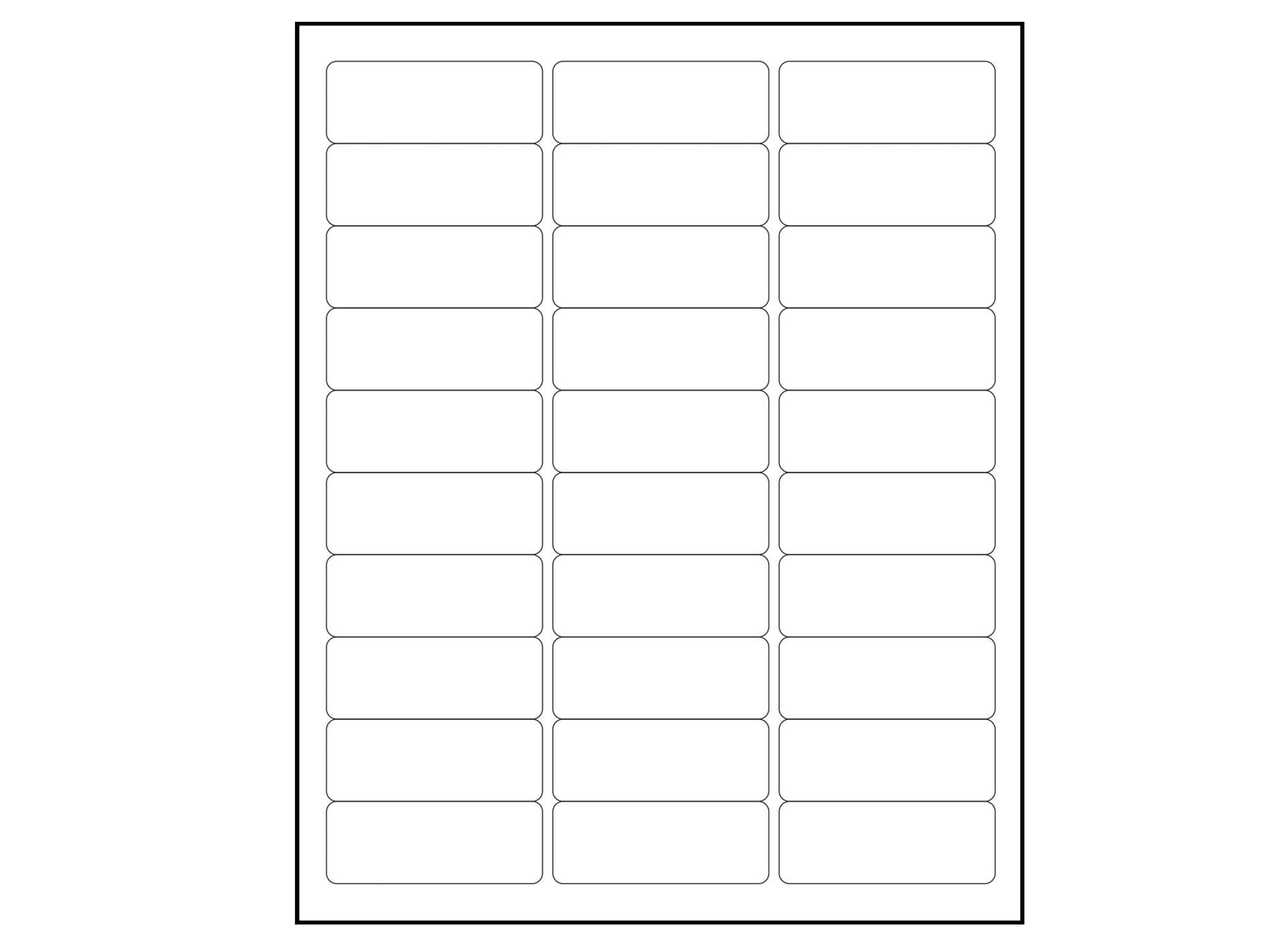 6000 blank 1 x 2 5 8 address labels downloadable label template ...