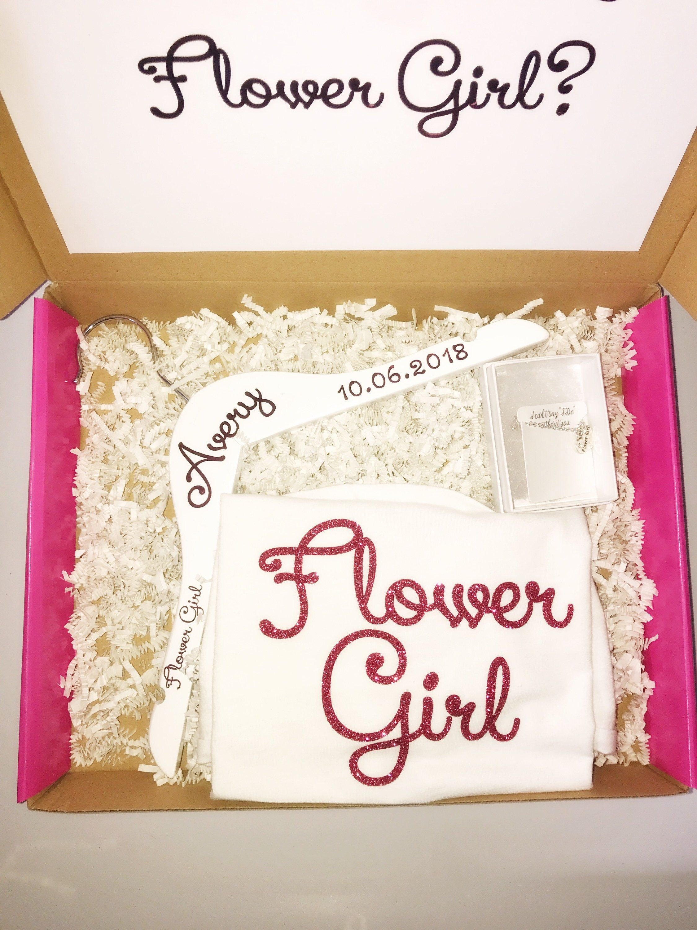 Flower girl gift flower girl proposal will you be my