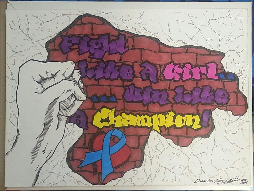 Fight like a girl! Team Maddie