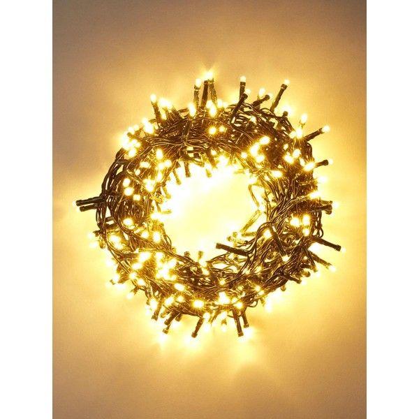 360 Led Multifunction Warm White Christmas Lights ($40) ❤ liked on