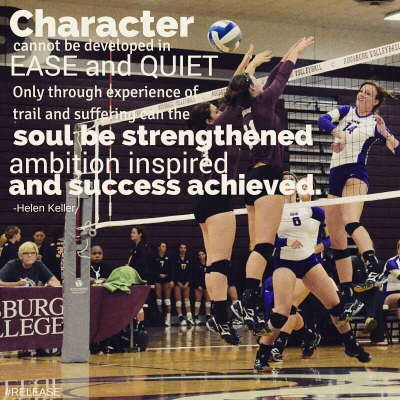 Pin by Cowley College Volleyball on Sports Motivational