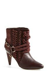 Ivy Kirzhner 'Chile' Rope Detail Pointy Toe Bootie (Women)