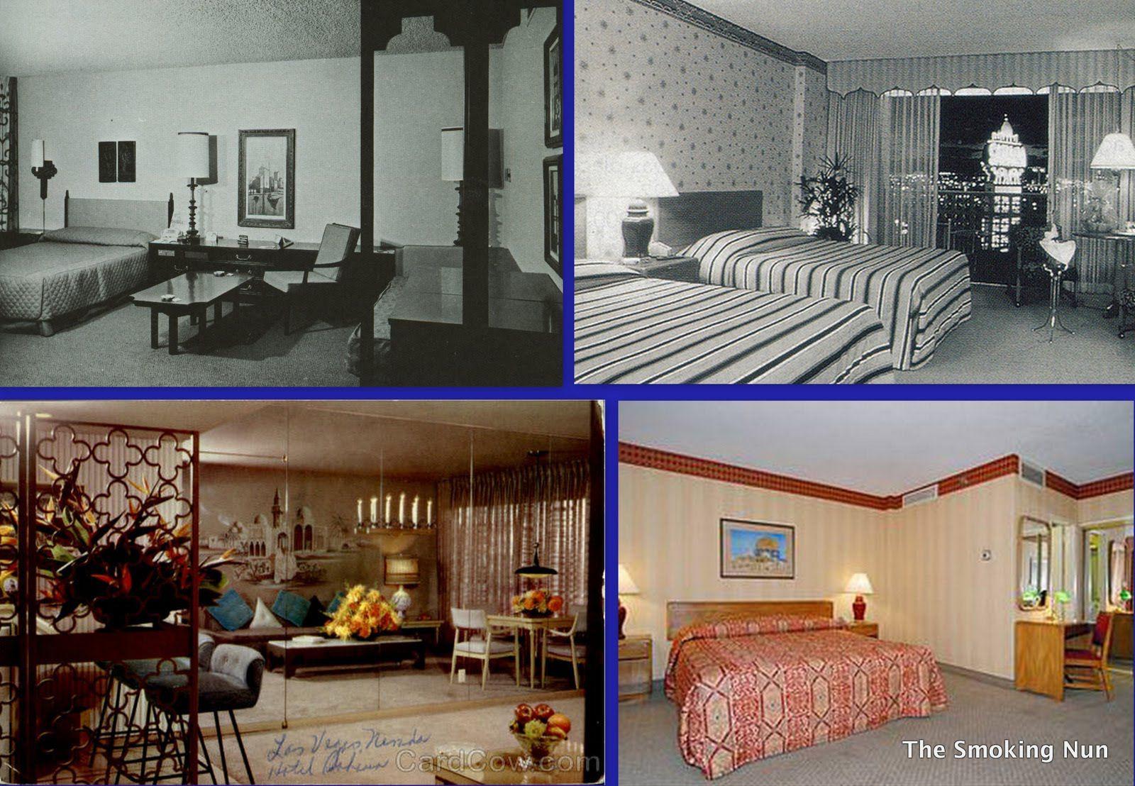 1950s Hotel Room - Inspiration Cabin Scene