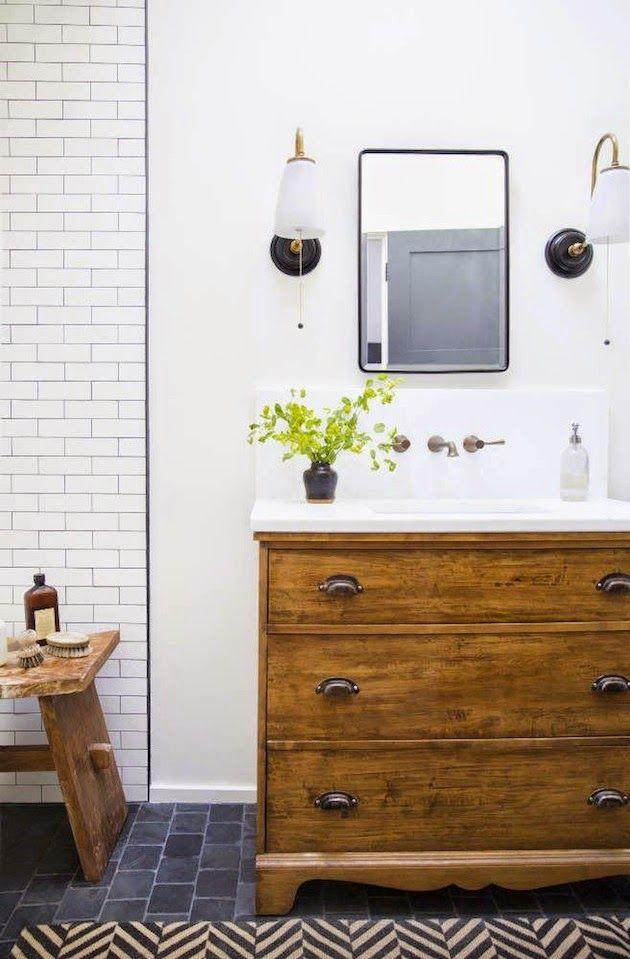 savorhomeblog Bad Pinterest Einrichten und Wohnen - kommode für badezimmer