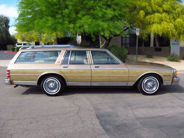 1982 Chevrolet Caprice Estate Wagon Chevy Caprice Classic
