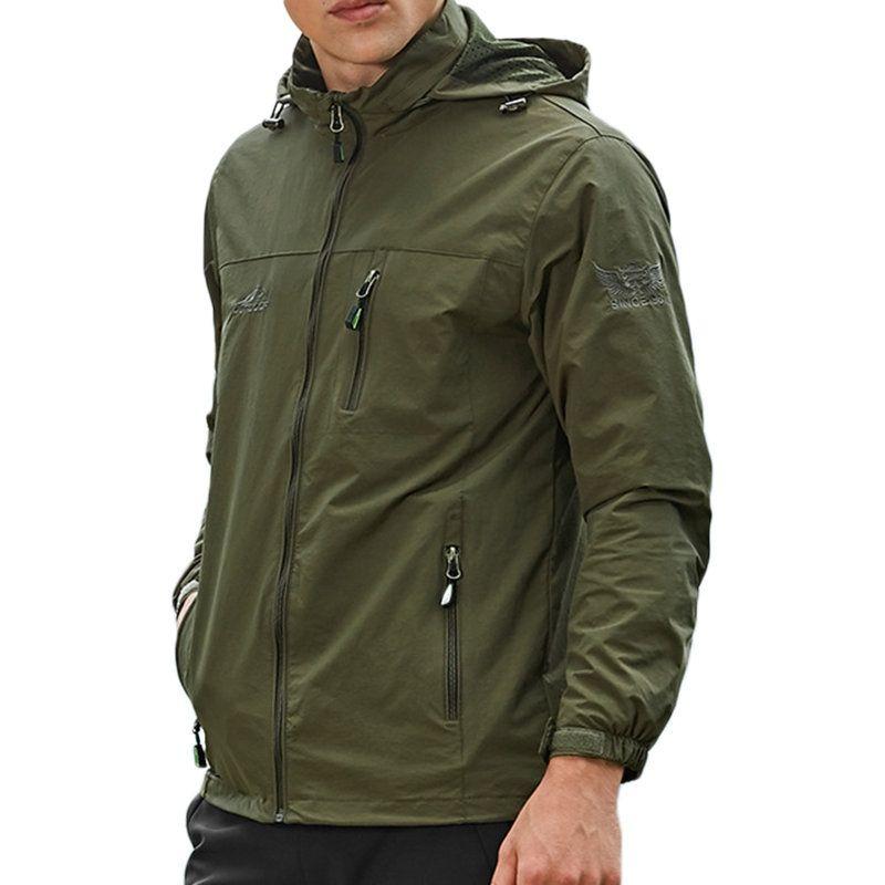 US$41,72 - Winter Outdoor Waterproof Windproof Hooded Coat ...