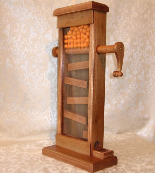 Colonial Gumball Machine Confections Woodworking