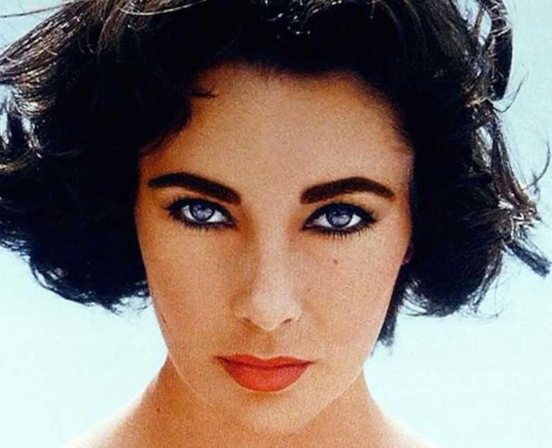 Elizabeth Taylor Eye Color Did She Really Have Natural Purple Eyes