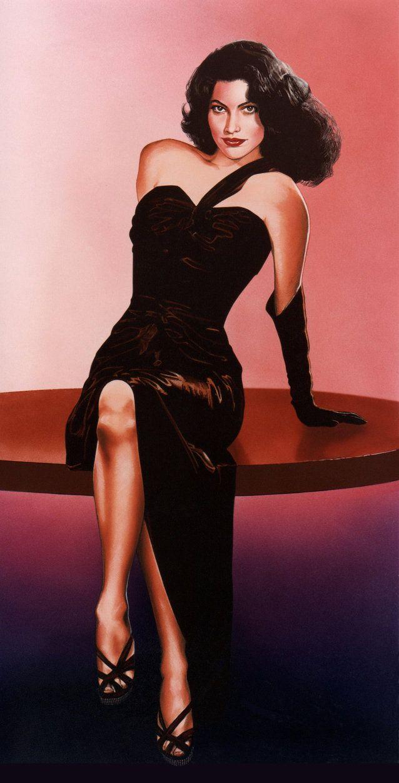 Zabójcy/ The Killers [1946] | Ava Gardner - Zabójcy [1946 ... Ava Gardner The Killers Dress