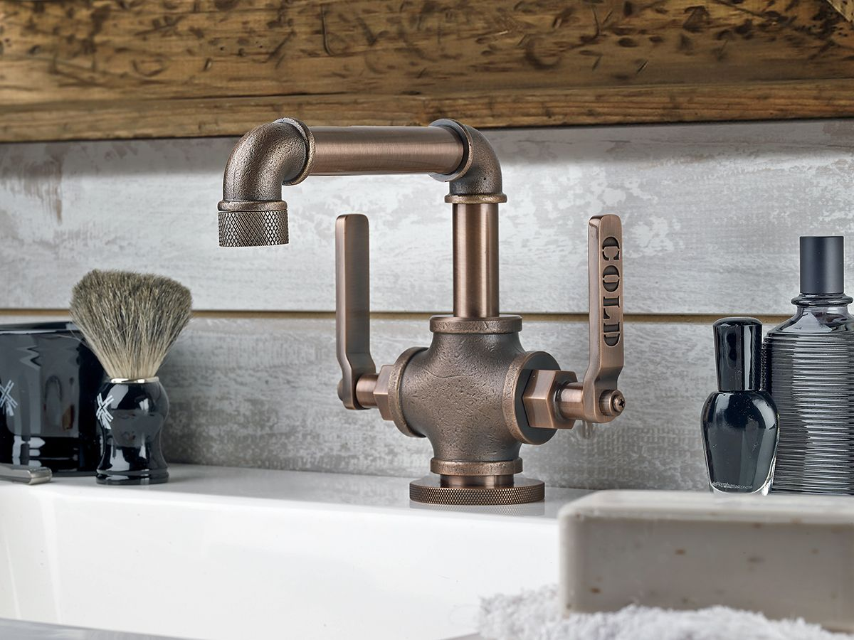 Industrial Style Faucets By Watermark To Give Your Plumbing The